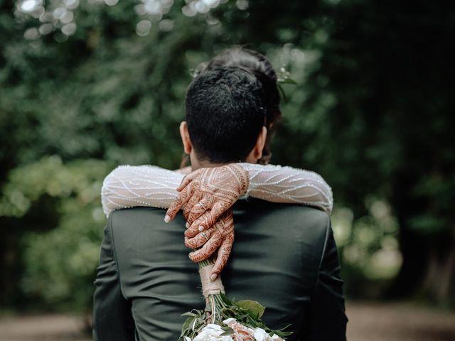 Le mariage de Yasmina et Sohan à Bray-et-Lû, Val-d'Oise 49