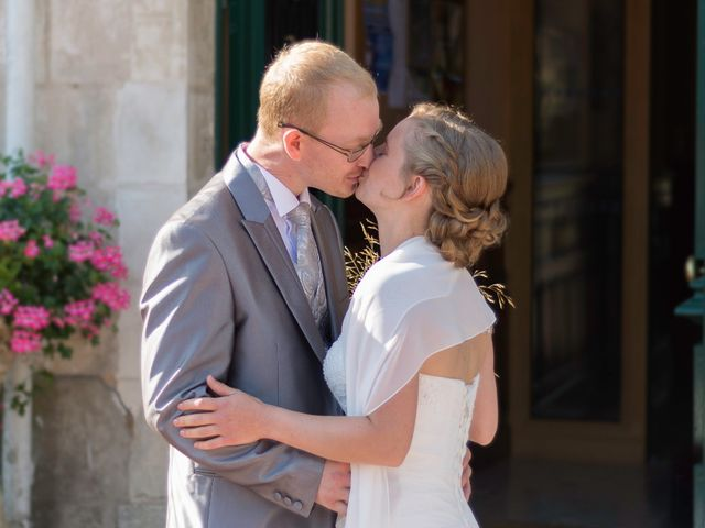 Le mariage de Gilles et Maelle à Vaas, Sarthe 12