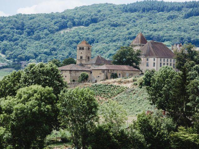 Le mariage de Xavier et Franceska à Pierreclos, Saône et Loire 1
