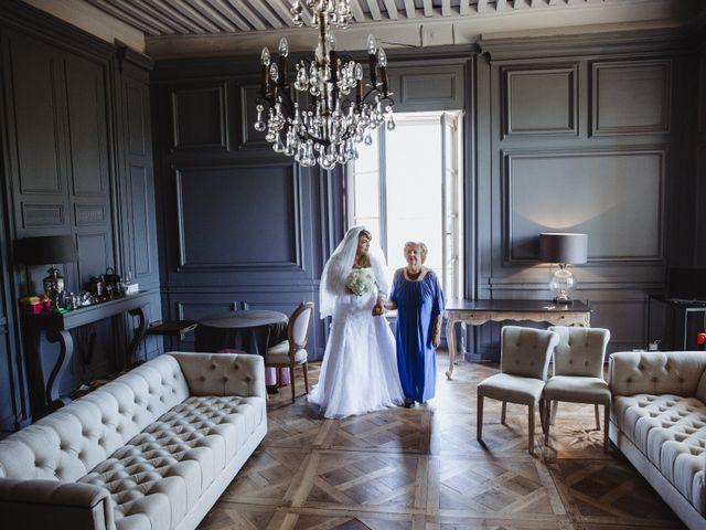 Le mariage de Xavier et Franceska à Pierreclos, Saône et Loire 10
