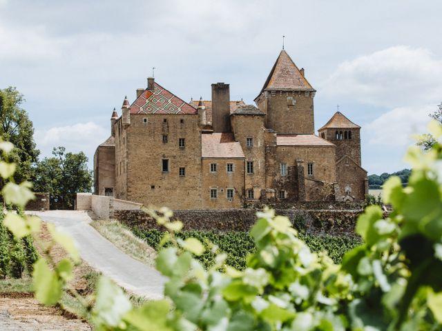 Le mariage de Xavier et Franceska à Pierreclos, Saône et Loire 12