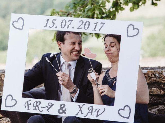 Le mariage de Xavier et Franceska à Pierreclos, Saône et Loire 43