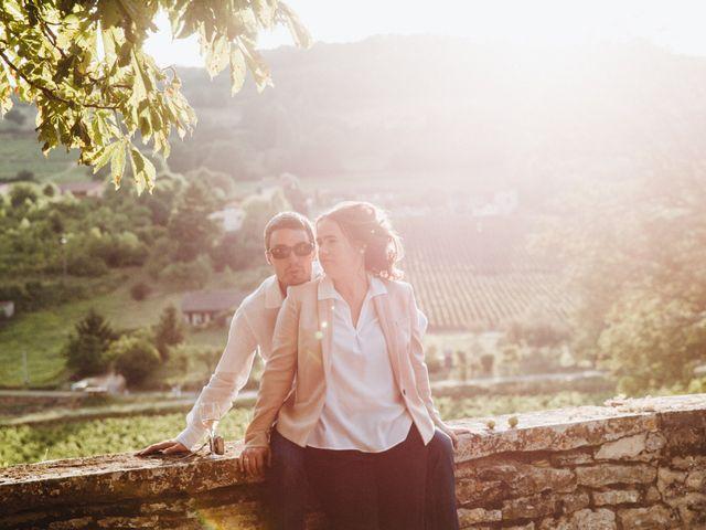 Le mariage de Xavier et Franceska à Pierreclos, Saône et Loire 48