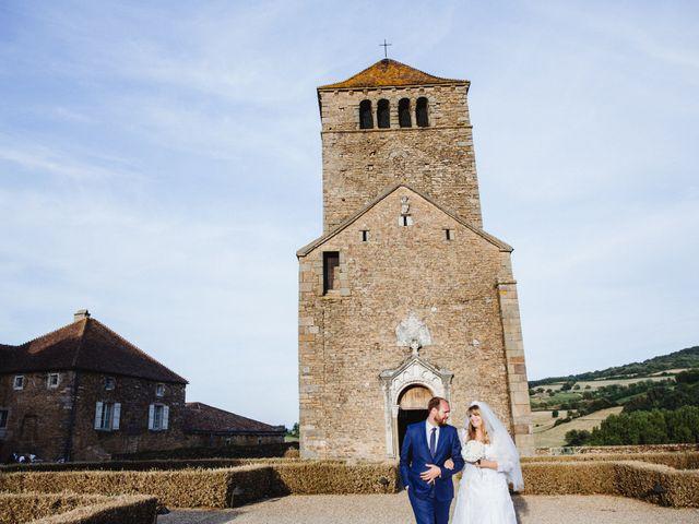 Le mariage de Xavier et Franceska à Pierreclos, Saône et Loire 52
