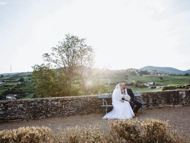 Le mariage de Xavier et Franceska à Pierreclos, Saône et Loire 53