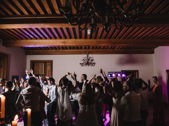 Le mariage de Xavier et Franceska à Pierreclos, Saône et Loire 65