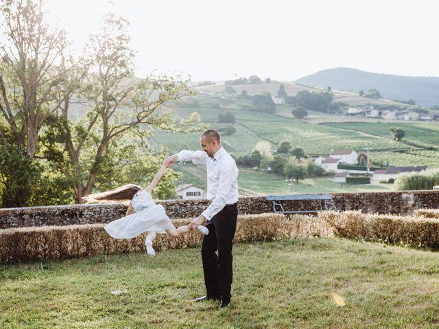 Le mariage de Xavier et Franceska à Pierreclos, Saône et Loire 51