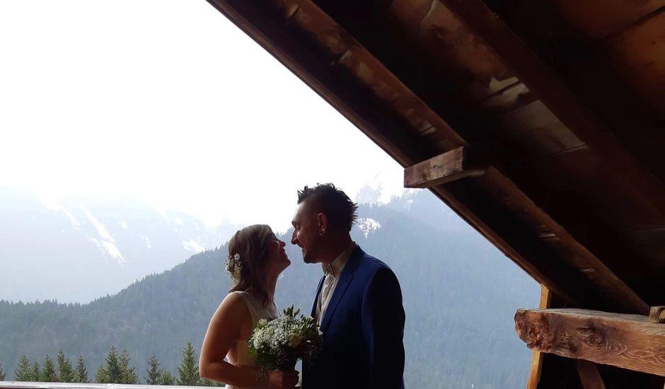 Le mariage de Séverine et Alexandre à Le Reposoir, Haute-Savoie
