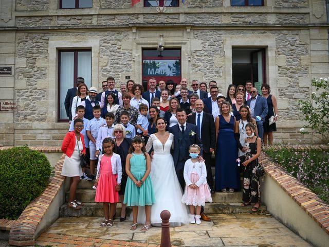 Le mariage de Lionel et Karine à Langon, Gironde 59