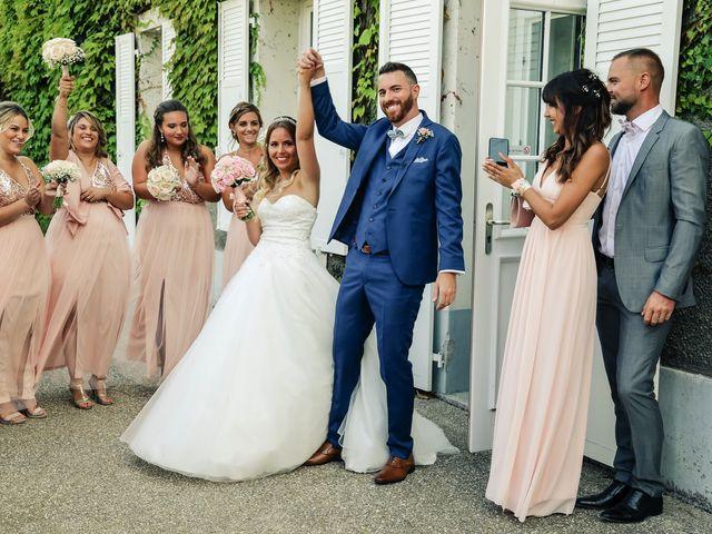 Le mariage de Steven et Justine à Bazoches-sur-Guyonne, Yvelines 78