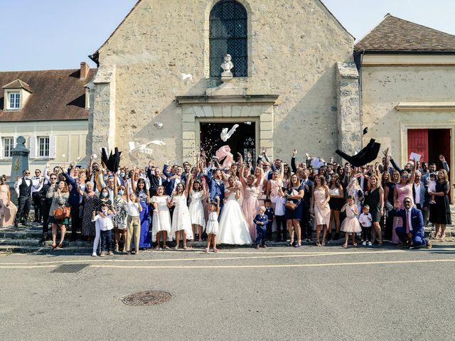 Le mariage de Steven et Justine à Bazoches-sur-Guyonne, Yvelines 145