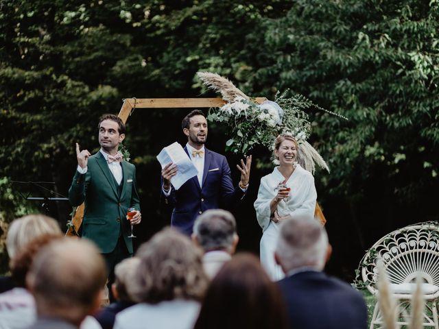 Le mariage de David et Anaïs à Saint-Jacut-de-la-Mer, Côtes d'Armor 13