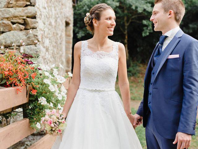 Le mariage de Christopher et Marine à Plouguenast, Côtes d'Armor 16