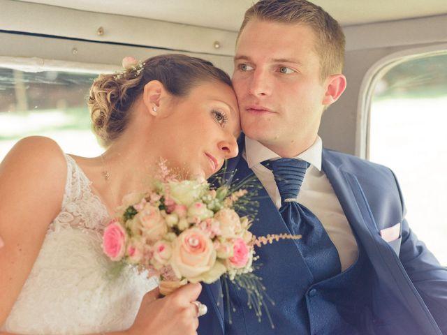 Le mariage de Christopher et Marine à Plouguenast, Côtes d'Armor 1