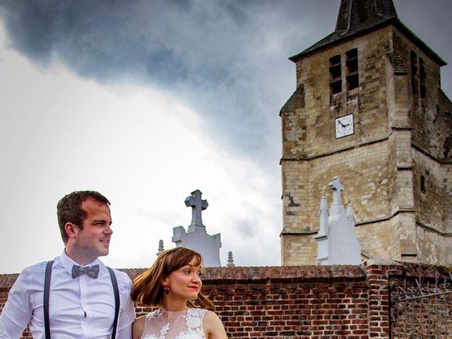 Le mariage de Geoffrey et Cynthia à Cattenières, Nord 4