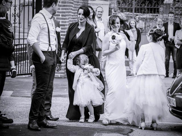 Le mariage de Geoffrey et Cynthia à Cattenières, Nord 15
