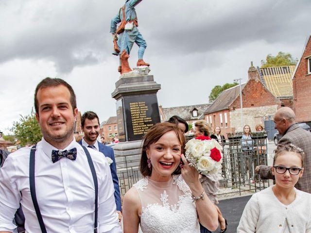 Le mariage de Geoffrey et Cynthia à Cattenières, Nord 16