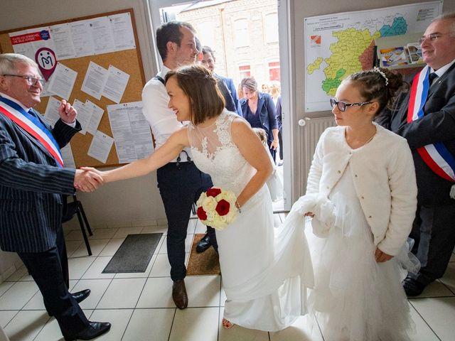 Le mariage de Geoffrey et Cynthia à Cattenières, Nord 17