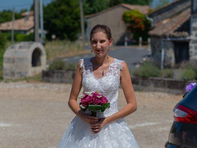Le mariage de Mickaël et Bérengère à Marsas, Gironde 6