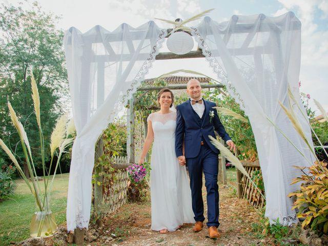 Le mariage de Tony et Samantha à Condom, Gers 31