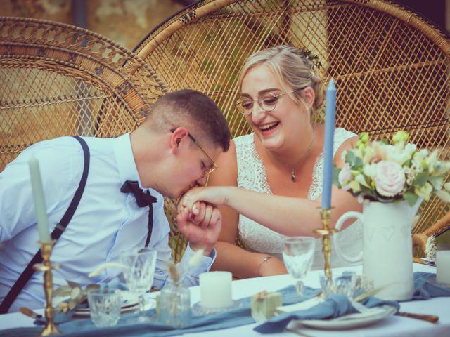 Le mariage de Alexis et Marie-Alice à Vouillé, Vienne 52