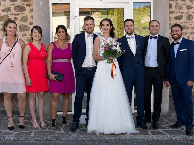 Le mariage de Yoann et Marlène à Cuzieu, Loire 19