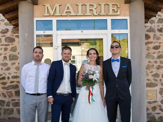Le mariage de Yoann et Marlène à Cuzieu, Loire 20
