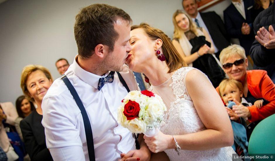 Le mariage de Geoffrey et Cynthia à Cattenières, Nord