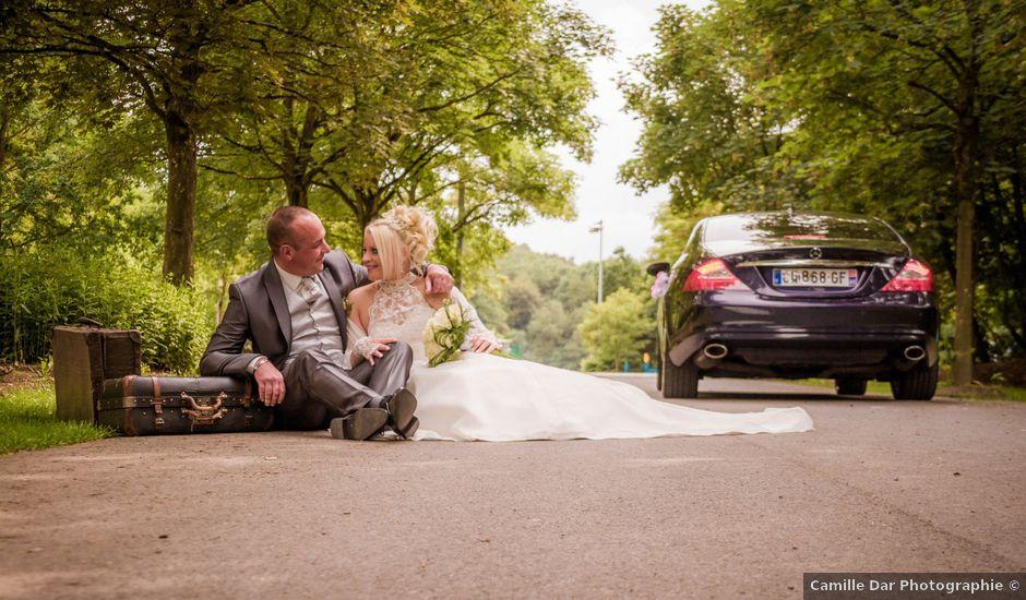 Le mariage de David et Elodie à Boussois, Nord