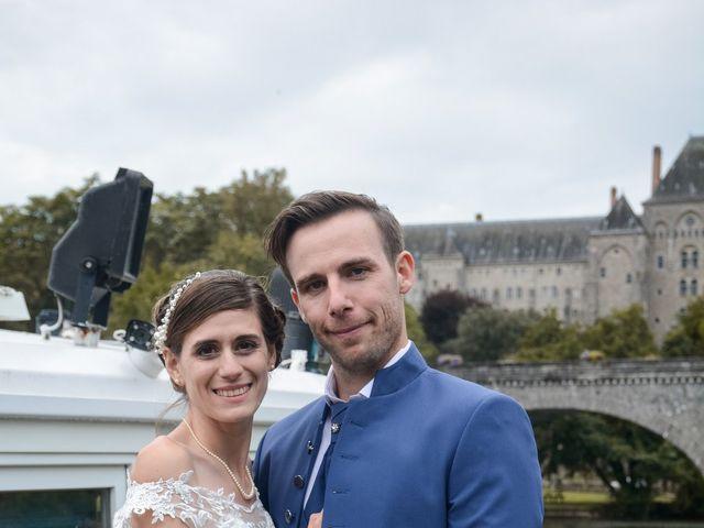 Le mariage de Benoît et Antonina à Sablé-sur-Sarthe, Sarthe 8