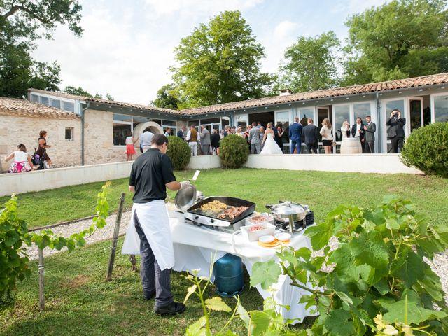 Le mariage de Sampsa et Aurore à Nérigean, Gironde 3