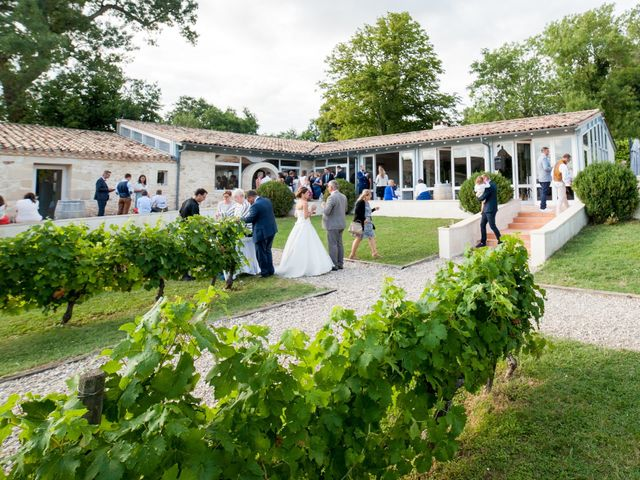 Le mariage de Sampsa et Aurore à Nérigean, Gironde 5