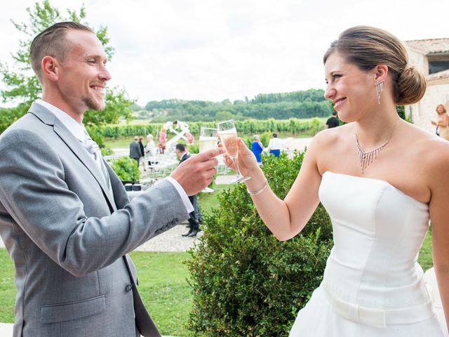 Le mariage de Sampsa et Aurore à Nérigean, Gironde 15