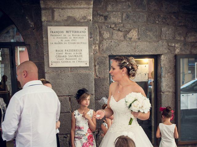 Le mariage de Aurélien et Caroline à Agde, Hérault 14
