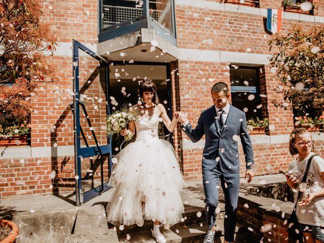 Le mariage de Xavier et Céline à Famars, Nord 7