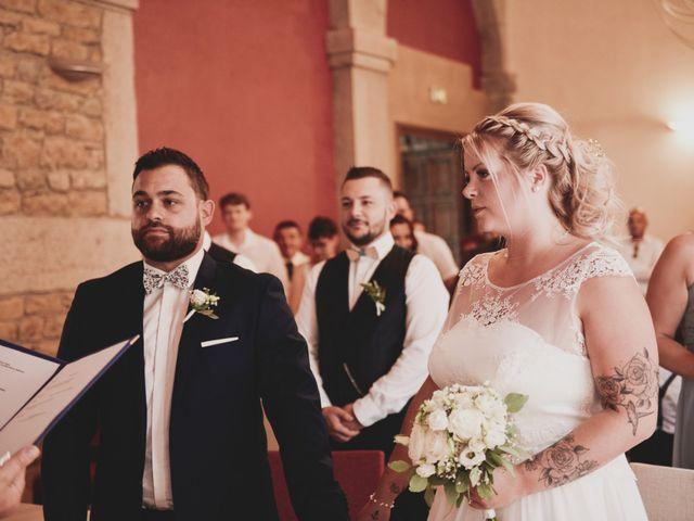 Le mariage de Johan et Christelle à Jujurieux, Ain 15