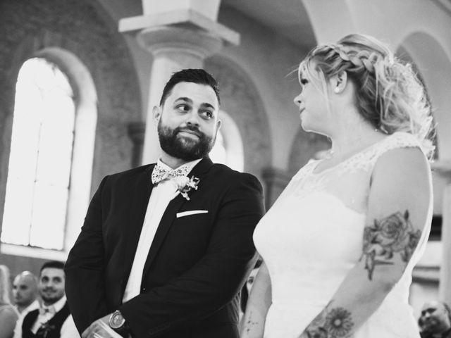 Le mariage de Johan et Christelle à Jujurieux, Ain 34