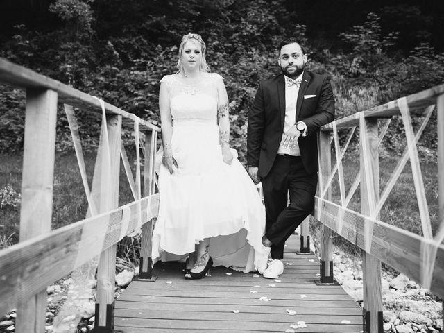 Le mariage de Johan et Christelle à Jujurieux, Ain 45
