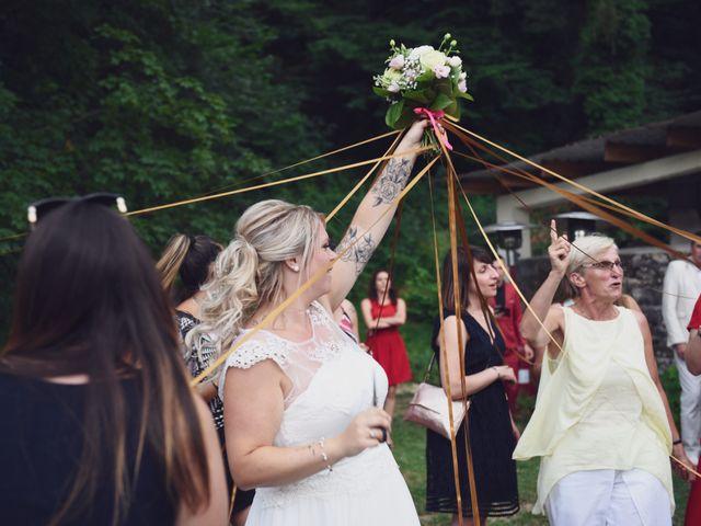 Le mariage de Johan et Christelle à Jujurieux, Ain 61