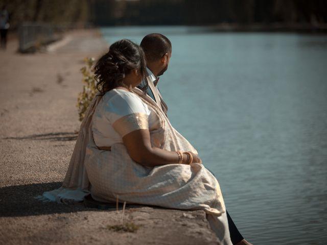 Le mariage de Kooroosamy Nessen et Annassamy Chitra à Chessy, Seine-et-Marne 1