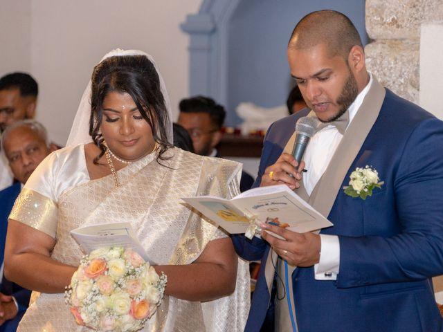 Le mariage de Annassamy Chitra et Kooroosamy Nessen