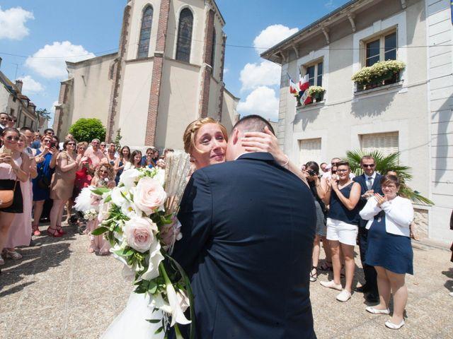 Le mariage de Romain et Charlène à Vimory, Loiret 5