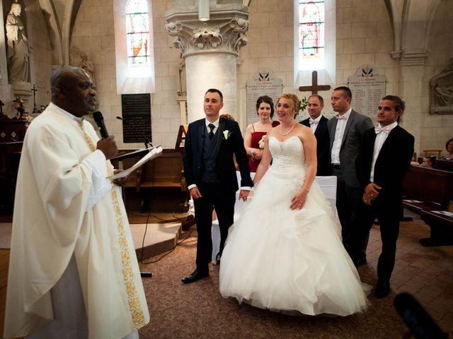 Le mariage de Romain et Charlène à Vimory, Loiret 8