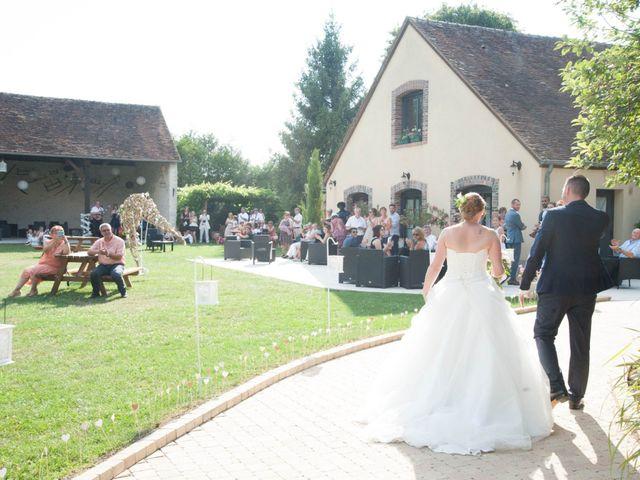 Le mariage de Romain et Charlène à Vimory, Loiret 11