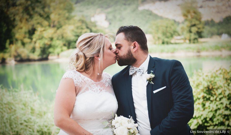 Le mariage de Johan et Christelle à Jujurieux, Ain
