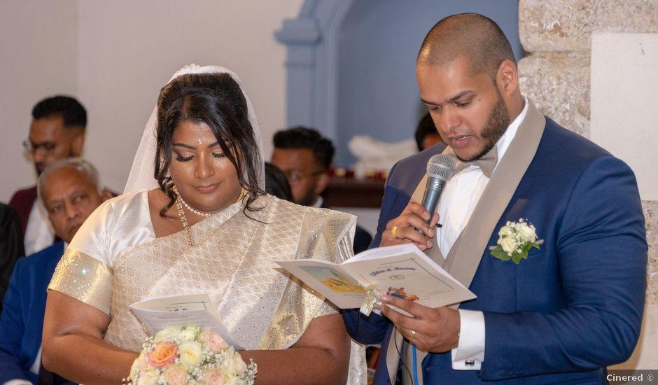 Le mariage de Kooroosamy Nessen et Annassamy Chitra à Chessy, Seine-et-Marne
