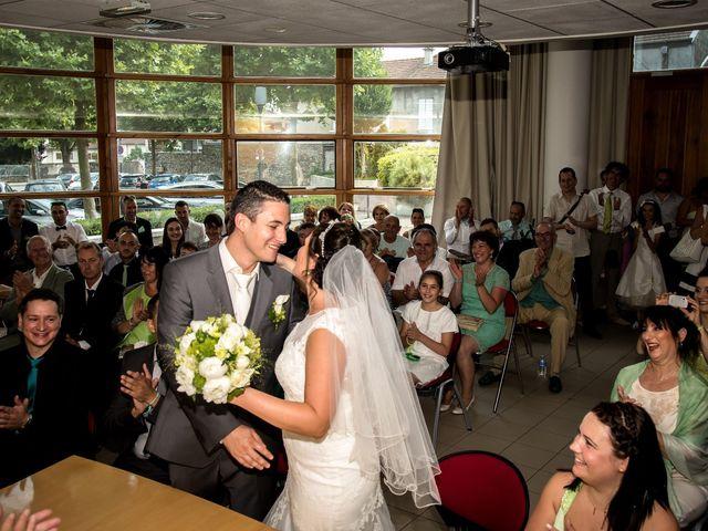 Le mariage de Charlotte et Antoine à Crolles, Isère 15