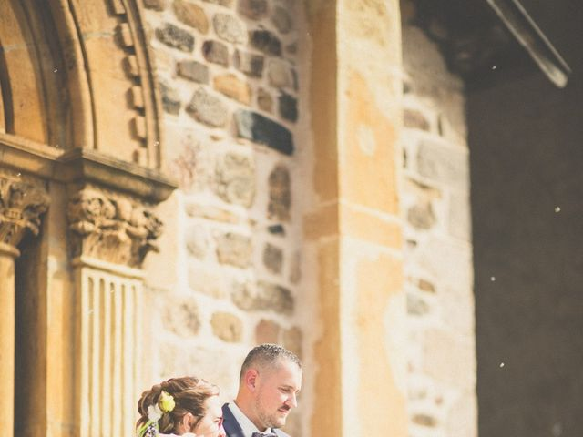 Le mariage de Aurélien et Émilie à Sainte-Foy-l'Argentière, Rhône 26