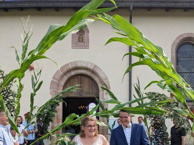 Le mariage de Germain et Marguerite à Corcieux, Vosges 3