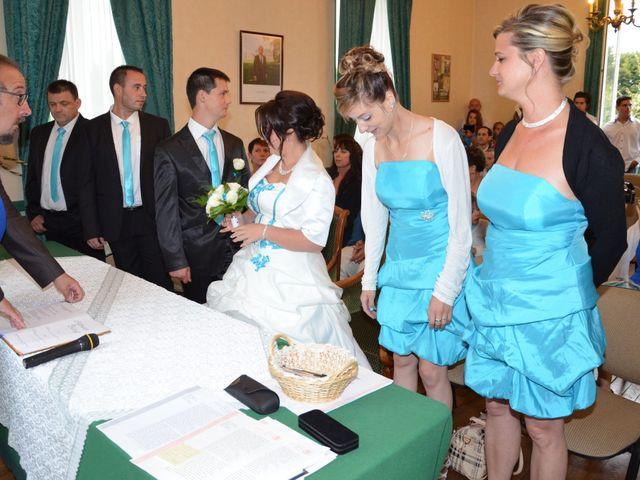 Le mariage de Damien et Anastasia à Champniers, Charente 53